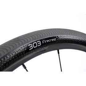 Zipp 303 Firecrest Achterwiel Carbon Clincher SRAM/Shimano, zwart/wit